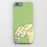 Blah Blah Blah iPhone 6 Slim Case