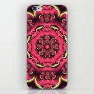 Fantasy Flower Kaleidosc… iPhone & iPod Skin