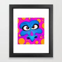 The Blue Dragon Framed Art Print