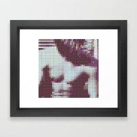 The Smiths - The Smiths - Pantone Pop Framed Art Print