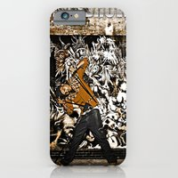 iPhone & iPod Case featuring Street Phenomenon Chris Brown by D77 The DigArtisT
