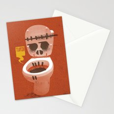 Toilet Bowl Stationery Cards