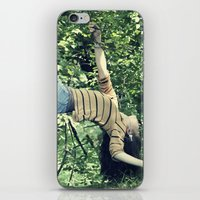 Hanging On By A Branch  iPhone & iPod Skin