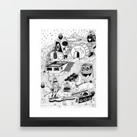 EL TANQUE CARCEDO Framed Art Print