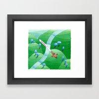 travel Framed Art Print