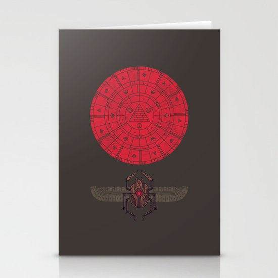 Sacred Sun Stationery Card