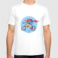 Fox Bike Mens Fitted Tee White SMALL