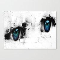 Kid´s eyes Canvas Print