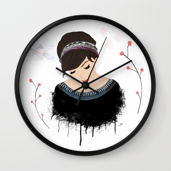 ONE SWEET GIRL Wall Clock