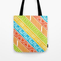 Tote Bag featuring Running Wild by Wild Notions