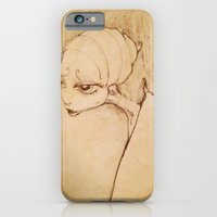 iPhone & iPod Case featuring Madame Butterfly by Heather Younger