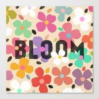 Bloom - Galaxy Eyes & Ga… Canvas Print