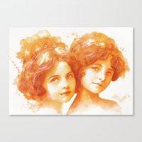 Age Of Innocence Canvas Print