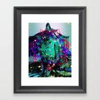 Sir Parker Framed Art Print