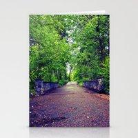 Scenic Spring bridge Stationery Cards