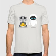 T-shirt featuring Wall-E And Eve by Steph Dillon