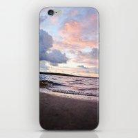 l'aube du hibou iPhone & iPod Skin