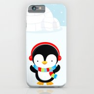 Cute Penguin Boy #2 iPhone 6 Slim Case