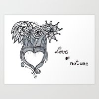 Love Of Nature Art Print