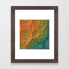 Amazing Terrain Framed Art Print