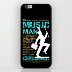The Music Man iPhone & iPod Skin