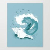 Sound Wave Canvas Print