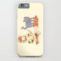 Skateboard dogs don't like roller skate cats iPhone 6 Slim Case