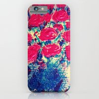iPhone & iPod Case featuring Pop Rose by Cynde Jackson Clarke
