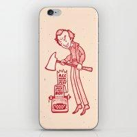 Dull Boy iPhone & iPod Skin