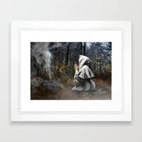 The Cauldron Framed Art Print