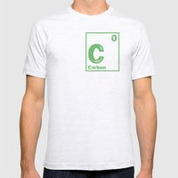 Carbon neutral Mens Fitted Tee Ash Grey SMALL