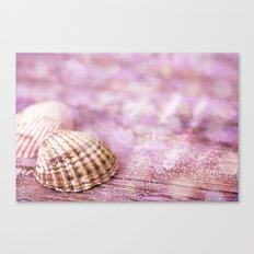 Pink Shells Canvas Print