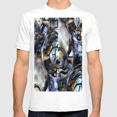 Big End Mens Fitted Tee White SMALL