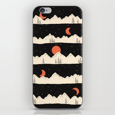 Moonrises...Moonsets... iPhone & iPod Skin