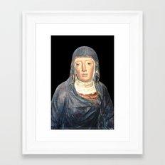Sorrowful Framed Art Print