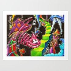 My Alice in Wonderland Art Print