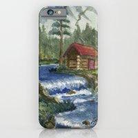 Peaceful Cabin iPhone 6 Slim Case
