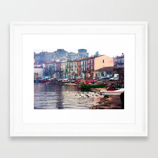 Winter in Marta Framed Art Print