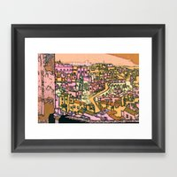 Matera, Italy Framed Art Print