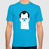John Mc Lane Mens Fitted Tee Teal SMALL