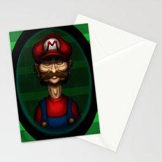 Sad Mario Stationery Cards