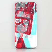 iPhone & iPod Case featuring portrait 2 by ana javier