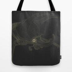 All lines lead to the...Rhino Beetle Tote Bag