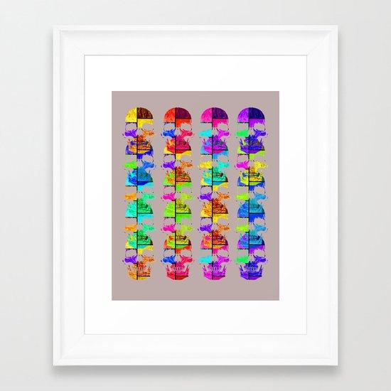 Skullk Framed Art Print