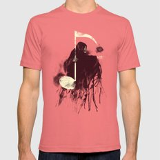 Death Note Mens Fitted Tee Pomegranate SMALL