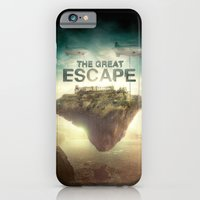 iPhone & iPod Case featuring The Great Escape by Falcon White