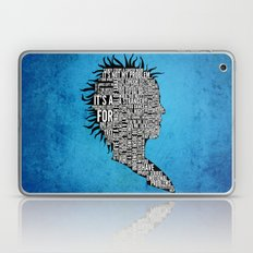 Typography Marla Singer Laptop & iPad Skin