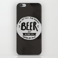Beer iPhone & iPod Skin