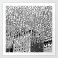 silver cloud 6 Art Print