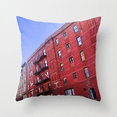 New York City Buildings NYC Throw Pillow